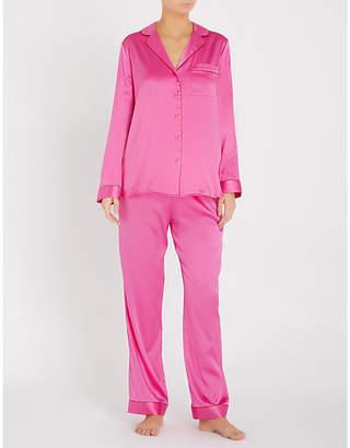 17b399c686 Yolke Classic stretch-silk pyjama set