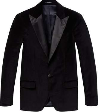 Scotch & Soda Black Velvet Blazer