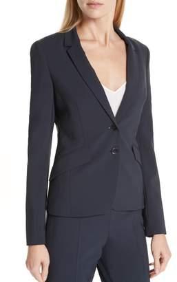 BOSS Jiletara Stretch Wool Jacket