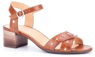 PIKOLINOS Tamarit Leather Heel Sandal
