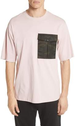 Helmut Lang Camo Pocket T-Shirt