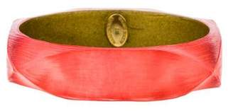 Alexis Bittar Square Wide Lucite Bangle