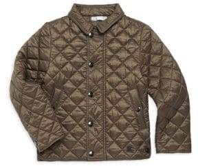 Burberry Little Boy's& Boy's Lyle Quilted Jacket