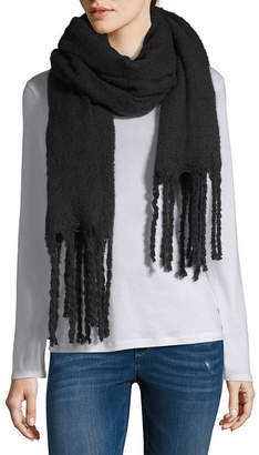 City Streets Fringe Wrap Cold Weather Scarf