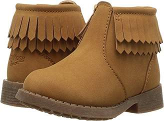 Osh Kosh Girls' Blige Fringe Ankle Boot