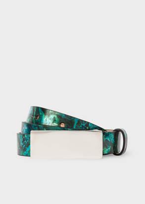 Paul Smith Women's 'Precious Stones' Leather Belt