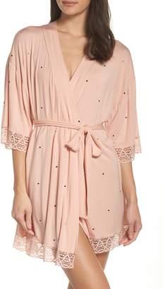 Eberjey Dots Short Robe