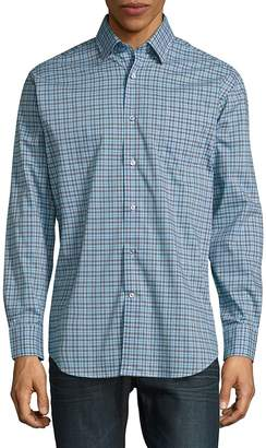 Robert Talbott Men's Anders Casual Button-Down Cotton Sportshirt