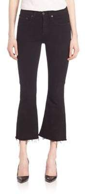 Rag & Bone Cropped Flare Jeans