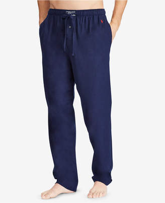 Polo Ralph Lauren Men's Big & Tall Cotton Flannel Pajama Pants