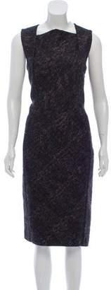 Bottega Veneta Wool-Alpaca Sleeveless Dress