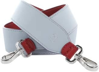 Fendi Burgundy Leather Bag charms
