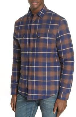 John Elliott John Elliot Quilt Lined Flannel Shirt