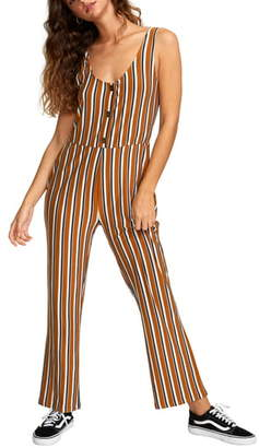 RVCA Carlton Stripe Jumpsuit