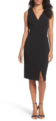 Women's Adrianna Papell Crepe Sheath Dress $130 thestylecure.com
