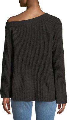 Sanctuary Aurelia Ribbed Wide-Sleeve Sweater