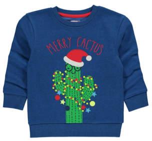 George Merry Cactus Christmas Sweatshirt