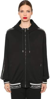 Dolce & Gabbana Logo Bands Jersey Sweatshirt Hoodie