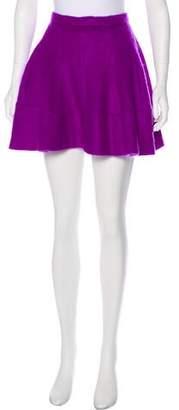 Sonia Rykiel Mohair A-Line Skirt