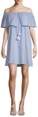 Saks Fifth Avenue Off-The-Shoulder Cotton Dress
