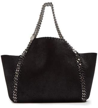 aef2562851 Stella McCartney Falabella Mini Reversible Faux Leather Tote Bag - Womens -  Black