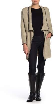 Keniston Angelina Shawl Collar Long Cardigan