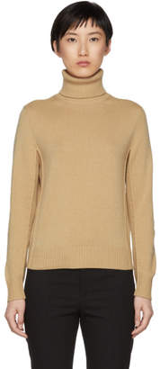 Chloé Brown Turtleneck Sweater