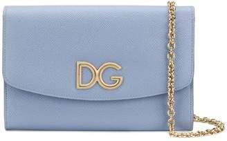 Dolce & Gabbana logo chain wallet