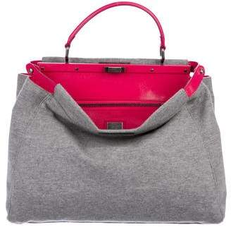Fendi Knit Peekaboo Bag