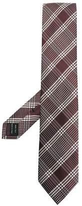 Tom Ford tartan pattern tie