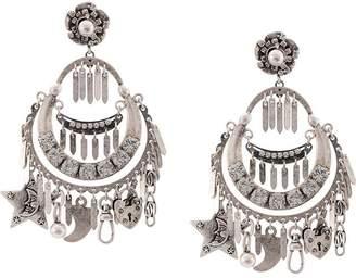 Dannijo Freesia clip-on earrings