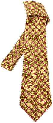 Hermes Vintage Gold Silk Ties