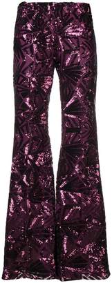 P.A.R.O.S.H. '70s disco flared trousers