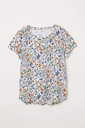 H&M Cotton T-shirt - White