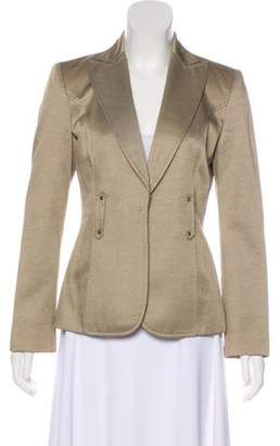 Valentino Metallic Cotton Blazer