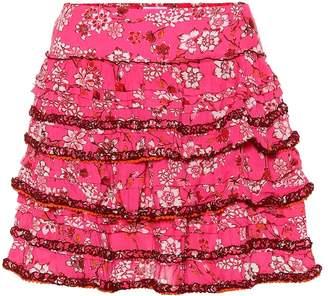 8fe6b23027 Poupette St Barth Exclusive to Mytheresa Bibi floral-printed miniskirt