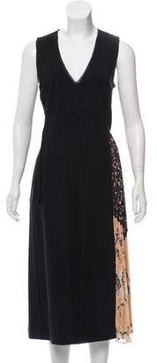 Jason Wu Pleated Side Midi Dress w/ Tags