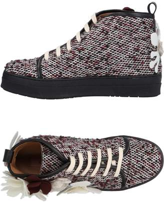 Rose' A Pois Sneakers