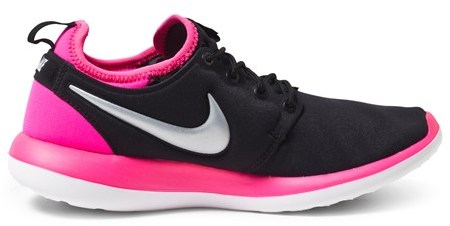 Nike Black and Pink Roshe Two Trainers
