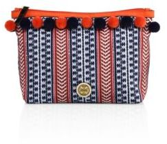 Tory Burch Tory Burch Pom-Pom Cosmetic Case