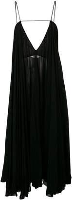 Jacquemus loose ruffle dress