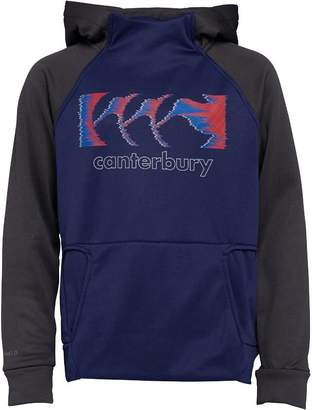 Canterbury of New Zealand Boys Vaposhield Poly Fleece Hoody Patriot Blue/Nine Iron