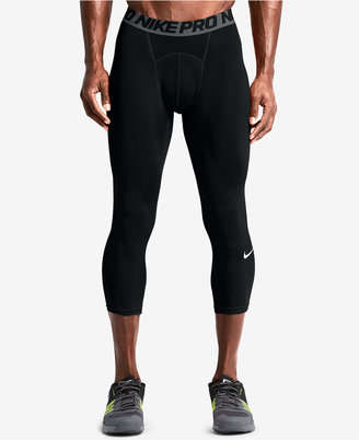 Nike Men's Pro Cool Dri-FIT 3/4 Compression Leggings $32 thestylecure.com