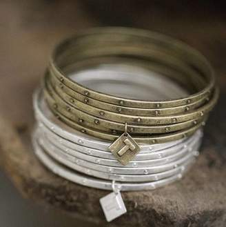 Marquis & Dawe Set Of Six Dot Bangles