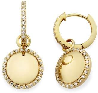 Monarc Jewellery - The Aurora Dome Drops 9ct Gold And White Topaz