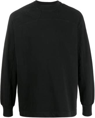 Alyx long-sleeve fitted sweatshirt