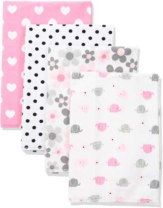 Gerber Baby 4 Pack Flannel Burp Cloth