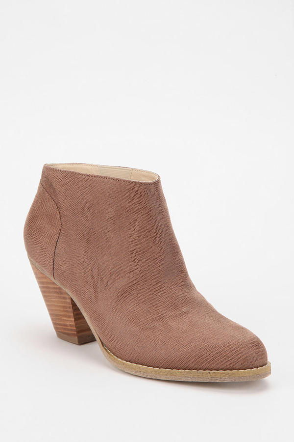 Ecote Scaled Leather Ankle Boot