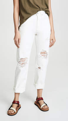 Moussy Vintage MV Hialeah Wide Straight Jeans
