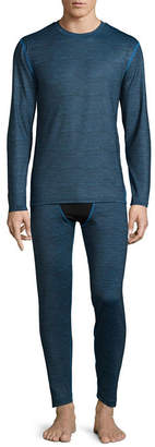 Fruit of the Loom Premium Heavyweight Tech Fleece Crew Long Sleeve Thermal Shirt